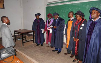 PhD of Honore ETOUNDI