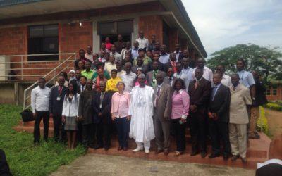 Ecole de Météorologie de l'Espace au Nigéria en Mai 2015