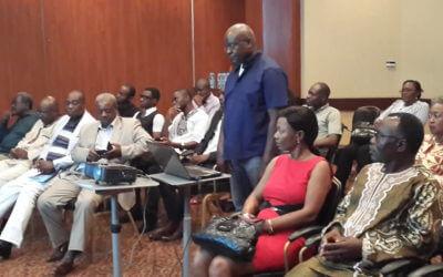 Dedicacae du Livre de César M'Bane (Cameroun)